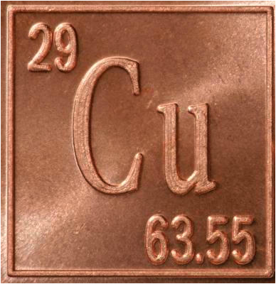 General info general information of copper 4 number of protons neutrons and electrons 293529 5 location on periodic table group 11 period 4 6 chemical family transition metals urtaz